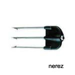 3 hrot nerezový Spearhead 3 prongs inox